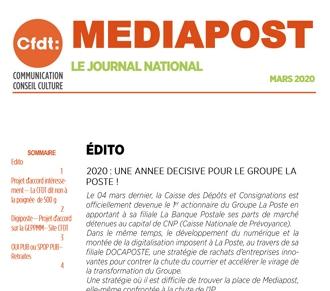 Journal national – Mars2020