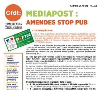Amendes Stop-Pub
